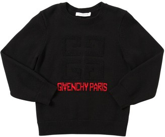 Givenchy COTTON & CASHMERE KNIT SWEATER