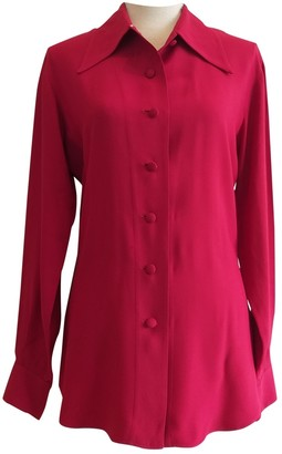 Moschino Red Top for Women Vintage