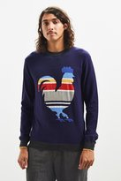 brand Oxford Lads Oxford Lads Striped Rooster Sweater