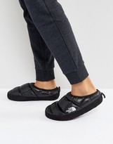 The North Face Tent Mule Iii Slipper In Shiny Black