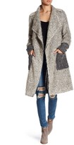 Luma Wool-Blend Duster Coat
