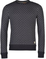 Soul Cal SoulCal Patterned Crew Knit Jumper Mens