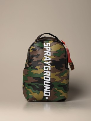Sprayground Backpack Bodyguard Backpack In Camouflage Rubber