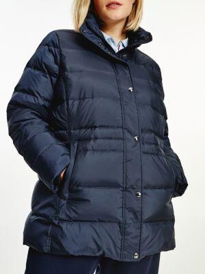 Tommy Hilfiger Essential Curve Monogram Down-Filled Jacket