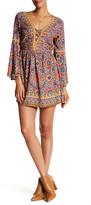 Angie Bell Sleeve Lattice Dress