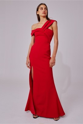 C/Meo Collective CALIBER GOWN red