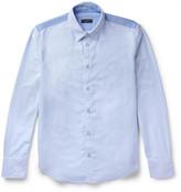 Rag & Bone Slim-Fit Button-Down Collar Two-Tone Cotton Oxford Shirt