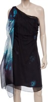 Max Studio Printed Chiffon Dress