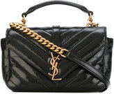 Saint Laurent College chain wallet - women - Calf Leather - One Size