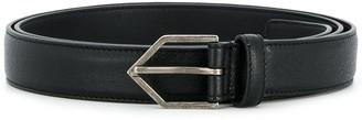 Saint Laurent Classic Buckle Belt