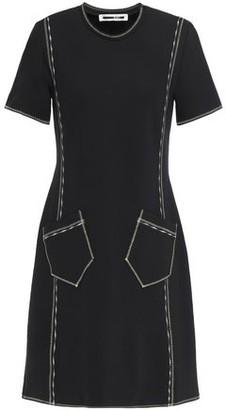 McQ Embroidered Jersey Mini Dress
