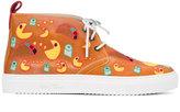 Del Toro Shoes lace-up shoes - men - rubber/Leather/Cotton - 8