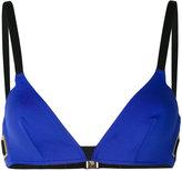 La Perla - haut de bikini bicolore -