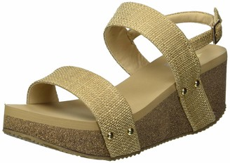 Volatile Women's Gillie Double Strap Wedge Sandal