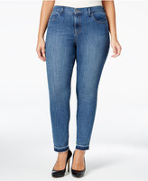 Style&Co. Style & Co. Plus Size Pacific Wash Skinny Ankle Jeans, Only at Macy's