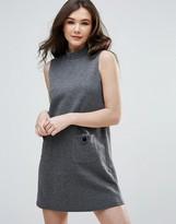 Vero Moda High Neck A-Line Dress