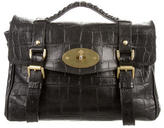 Mulberry Embossed Alexa Bag