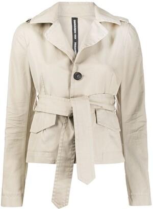 DSQUARED2 Odette trench blazer