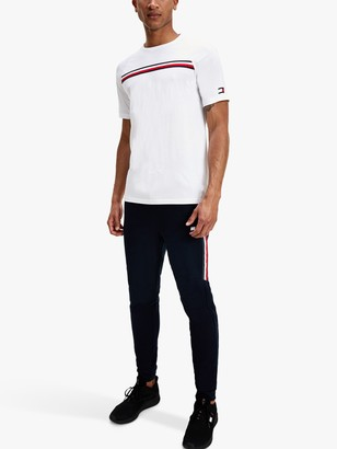 Tommy Hilfiger Tommy Sport Cuffed Tapered Tracksuit Bottoms, Desert Sky