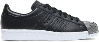 adidas Metallic-trimmed Leather Sneakers