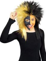 Rubie's Costume Co Costume Black and Gold Sports Fan Wig