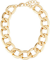 Lydell NYC Statement Chain-Link Necklace, Gold