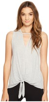 Lanston Cutout Tie Tank Top Women's Sleeveless
