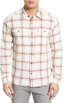 Patagonia Men's 'Steersman' Slim Fit Windowpane Organic Cotton Sport Shirt