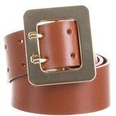 Frame Leather Waist Belt w/ Tags