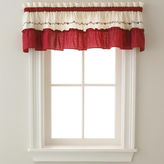 CHF Jayden Two-Tone Rod-Pocket Tailored Valance