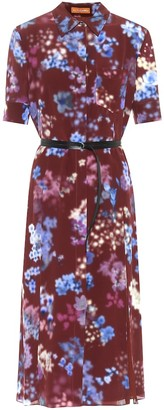 Altuzarra Kieran floral silk midi shirt dress