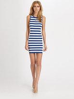 Parker Scout Striped Knit Dress