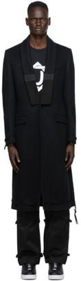 Undercover Black Wool Coat