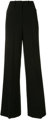Theory High-Waisted Wide Leg Trousers