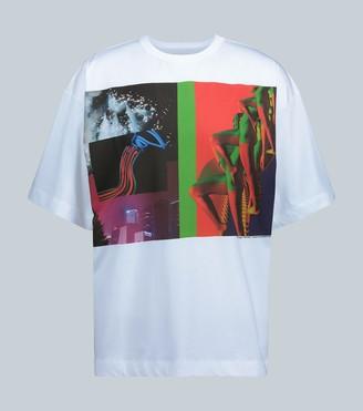 Dries Van Noten Ninagawa printed T-shirt