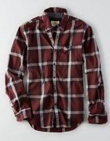 American Eagle AEO Slim Heathered Poplin Shirt