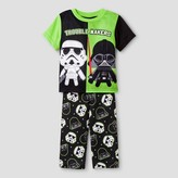 Star Wars Toddler Boys' 2-Piece Pajama Set - Black