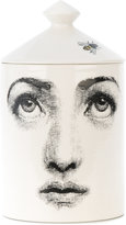 Fornasetti face print candle - women - wax/ceramic - One Size