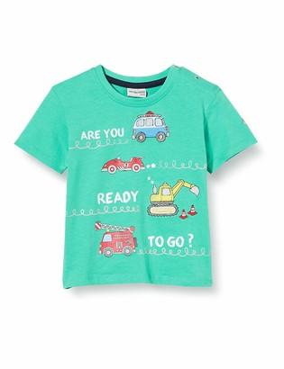 Salt&Pepper Salt & Pepper Baby Boys' Mit Gestickten Fahrzeugmotiven T-Shirt