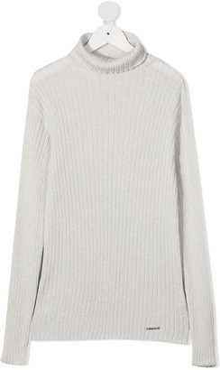 Pinko Kids TEEN roll neck sweater