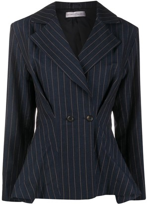 Palmer Harding Fitted Double-Breasted Blazer