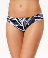 LaBlanca La Blanca Bali Hai Printed Shirred Bikini Bottoms