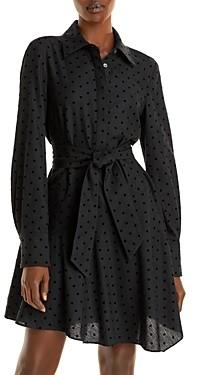 Derek Lam 10 Crosby Alecia Asymmetric Shirt Dress