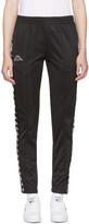 Kappa Black Banda Astoria Snaps Track Pants