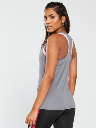Nike Training Pro Tank - Grey