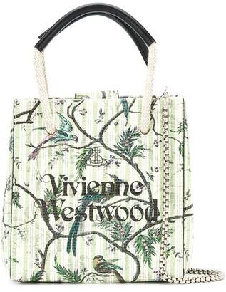 Vivienne Westwood Bird-Print Tote