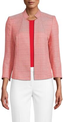 Anne Klein Ridge Crest Crop Jacket