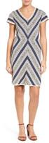 Nic+Zoe Spanish Stripe Sweater Dress (Petite)