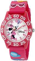 Disney Infinity Kids' W002460 Minnie Mouse Analog Display Analog Quartz Watch