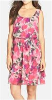 Maggy London Peony Chiffon Dress